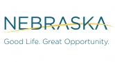 Nebraska. Good Life. Good Opportunity. State of Nebraska logo
